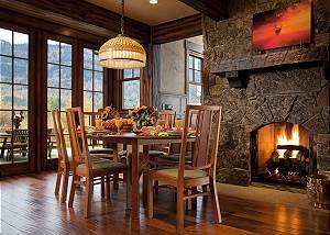 Dining - Big Sky - Jackson Hole, WY  Luxury Vacation Rental