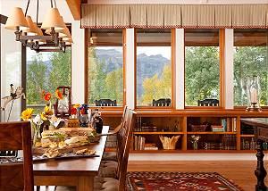 Dining Area - Overlook - Luxury Vacation Rental - Jackson Hole