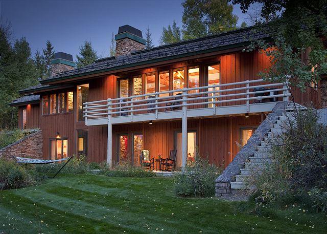 Exterior - Overlook - Luxury Vacation Rental - Jackson Hole