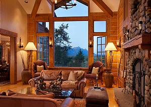 Great Room - Riversong Lodge - Luxury  Rental Jackson Hole, WY