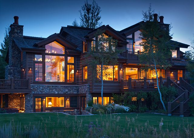 Exterior - Riversong Lodge - Luxury  Rental Jackson Hole, WY