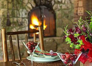 Dining Area - The Cabin - Jackson Hole Luxury Cabin Rental