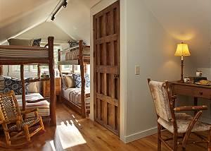 Bunk Room - The Cabin - Jackson Hole Luxury Cabin Rental