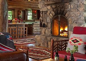 Great Room - The Cabin - Jackson Hole Luxury Cabin Rental