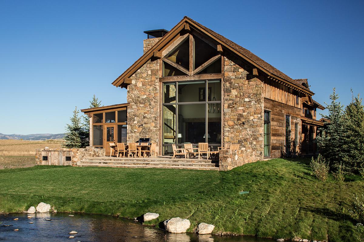 Teton village luxury vacation rental lodge at shooting for Teton cabin rentals