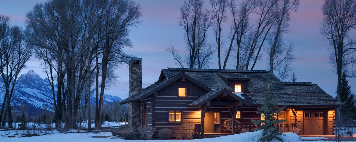 Jackson hole luxury cabin rental golf tennis cabin 15 for Cabin rentals in jackson hole wy