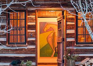 Entry - Shooting Star Cabin - Luxury Villa Rental - Teton Villag
