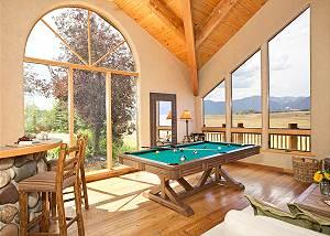 Game Room - Home on the Range - Jackson Hole Luxury Cabin