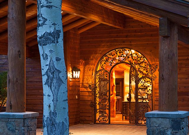 Entryway - Home on the Range - Jackson Hole Luxury Cabin