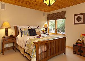 Guest Bed 1 - Home on the Range - Jackson Hole Luxury Cabin