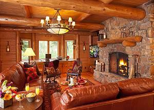 Study/Den - Home on the Range - Jackson Hole Luxury Cabin