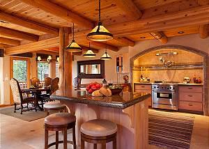 Kitchen - Home on the Range - Jackson Hole Luxury Cabin