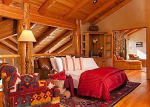 Landing - Home on the Range - Jackson Hole Luxury Cabin
