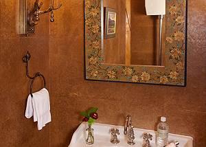 Powder Room - Home on the Range - Jackson Hole Luxury Cabin