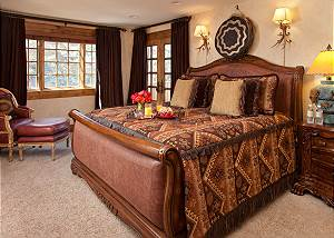 Guest Bed 4 - Shoshone Lodge - Luxury Villa - Jackson Hole, WY
