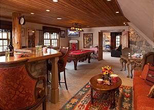 Recreation Room - Shoshone Lodge - Luxury Villa - Jackson Hole