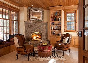 Study - Shoshone Lodge - Luxury Villa - Jackson Hole, WY