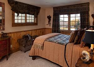 Guest Bed 3 - Shoshone Lodge - Luxury Villa - Jackson Hole, WY