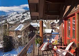 Master Bed - Granite Ridge Lodge - Luxury Teton Village Cabin