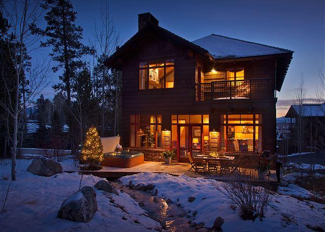 Exterior - Granite Ridge Lodge - Luxury Teton Village Cabin