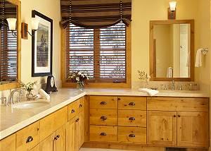 Master Bath - Granite Ridge Lodge - Luxury Teton Village Cabin