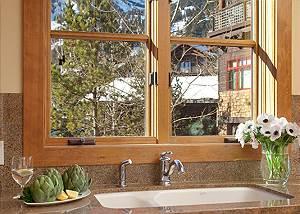 Kitchen - Granite Ridge Lodge - Luxury Teton Village Cabin