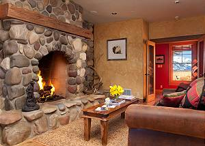 Office - Elk Refuge -  Jackson Hole Luxury Vacation Rental Cabin