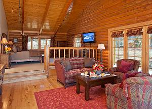 Master Bedroom - Elk Refuge -  Jackson Hole Luxury Cabin