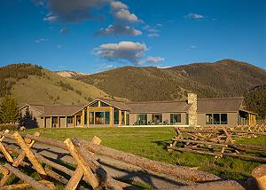 Exterior - Elk Refuge -  Jackson Hole Luxury Vacation Cabin