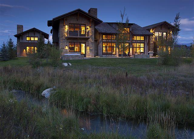 Exterior - Canyonland - Teton Village Luxury Vacation Villa Rent
