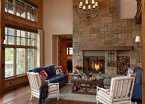 Great Room - Canyonland - Teton Village Luxury Vacation Villa