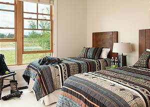 Guest Bed 5 - Canyonland - Teton Village Luxury Vacation Villa