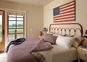 Guest Bed 6 - Canyonland - Teton Village Luxury Vacation Villa