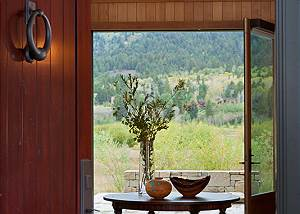 Entrance - Canyonland - Teton Village Luxury Vacation Villa