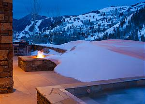 Patio - Ranchview Lodge - Luxury Villa Rental - Jackson Hole