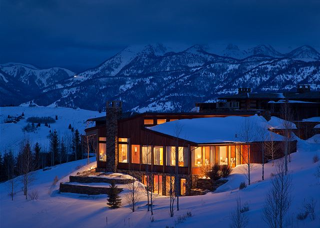Exterior - Ranchview Lodge - Luxury Villa Rental - Jackson, WY