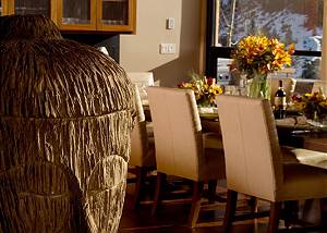 Dining Area - Ranchview Lodge - Luxury Villa Rental - Jackson