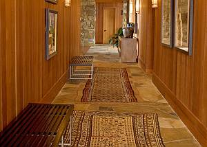 Hallway to Great Room - Ranchview Lodge - Luxury Villa Jackson