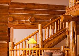 Great Room - Lost in the Woods - Jackson Hole Luxury Cabin