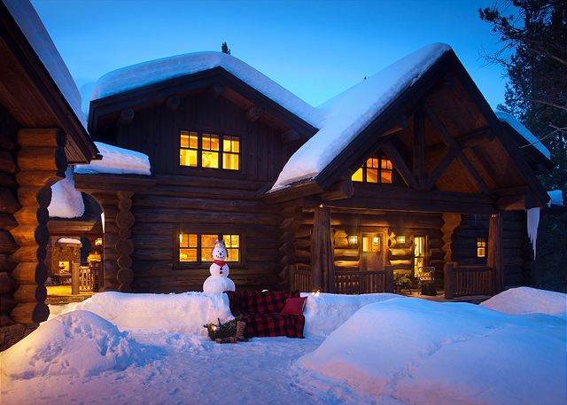 Front  - Lost in the Woods - Jackson Hole Luxury Cabin