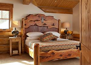 Guest Bed 5 - Lost in the Woods - Jackson Hole Luxury Cabin