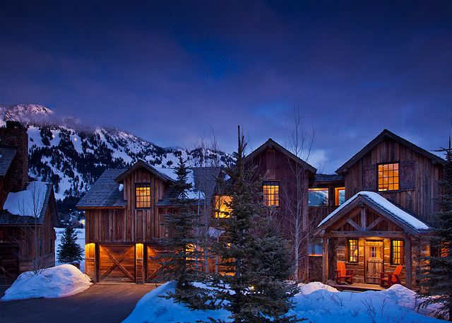 Shooting Star Cabin - Luxury Villa Rental - Teton Village, WY