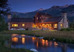 Rear Elevation - Shooting Star Cabin - Luxury Villa - Teton Vill