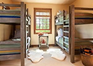 Guest Bed 2 - Shooting Star Cabin - Luxury Villa - Teton Village