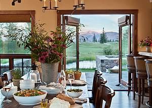 Dining - Shooting Star Cabin - Luxury Villa Rental - Teton Villa