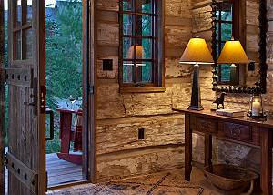 Entryway - Shooting Star Cabin - Luxury Villa Rental - Teton Vil