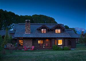 Jackson Hole Luxury Cabin Villa Home Rentals