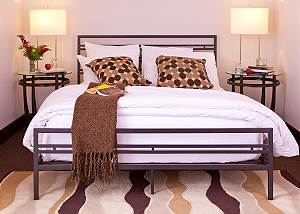 Guest Bed - Pearl at Jackson - Luxury Residence Jackson Hole
