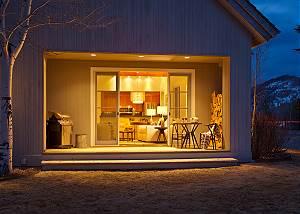 Deck -  Pines Garden - Luxury Vacation Rental Cottage - Jackson