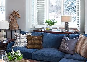 Great Room -  Pines Garden - Luxury Cottage Jackson Hole